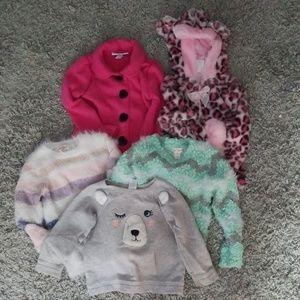 5 3t Girls Sweater
